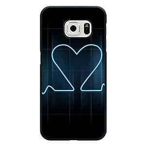 Nice Samsung Galaxy S6 Edge Back Cover Elegant Prevdent Heart Print Phone Case Snap on Samsung Galaxy S6 Edge