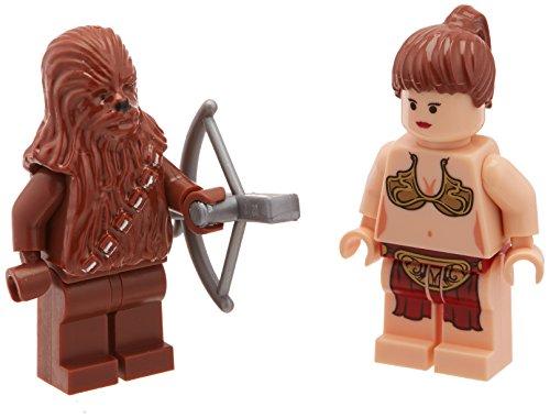 LEGO Chewbacca y Princess Leia (El retorno del Jedi) Figuras sueltas de Star Wars