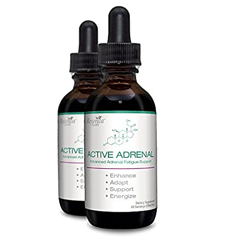 Active Adrenal - Advanced Adrenal Fatigue Supplement | All-Natural Liquid Formula for 2X Absorption | Ashwagandha, B-Vitamins, Magnesium & - Adrenal Boost