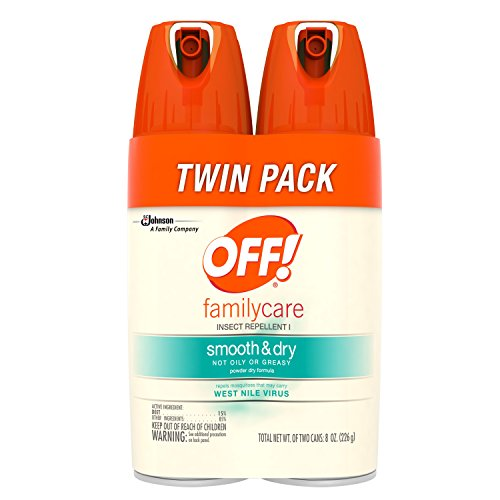 Off  Familycare Insect Repellent I Smooth   Dry  2 Ct  4 Oz