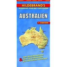 Hildebrand's Travel Map: Australia