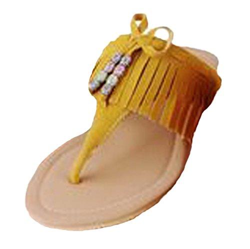 Insun , Damen Sandalen Gelb