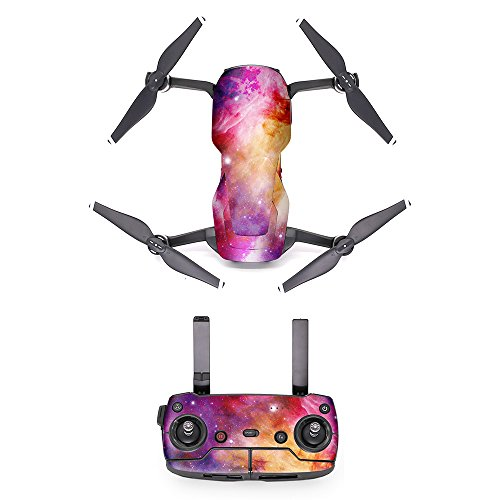 - MoreToys Waterproof Battery Decal Remote Controller Skin Wrap Decorative Sticker Decal Skin Full Set Drone Body Sticker for DJI Mavic Air Quadcopter Drone (K)