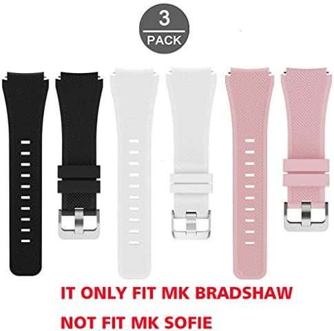 Lamshaw Silicone Replacement Smartwatch Pack Pink product image
