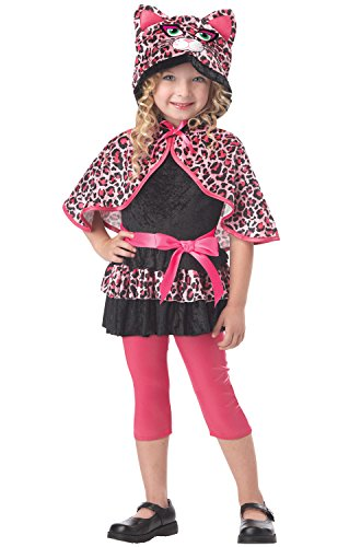 [California Costumes Cutesy Kitty Toddler Costume, 3-4] (Pretty Leopard Toddler Costumes)