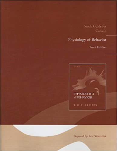 Of pdf carlson physiology behaviour