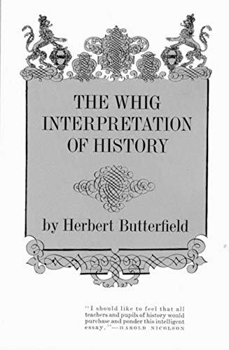 Image of The Whig Interpretation of History