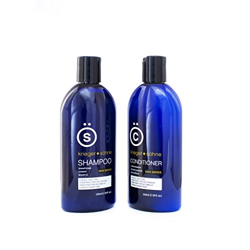K s salon quality men 39 s shampoo conditioner set tea for Salon quality shampoo