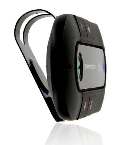 SuperTooth Buddy Bluetooth Visor Speakerphone Car kit - Black by Supertooth (Image #3)