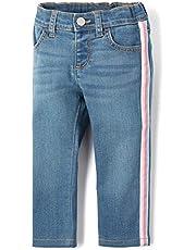 بنطلون جينز سكيني أنيق للفتيات من ذا كيدز بليس
