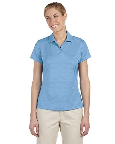 Adidas Two Button Polo Shirt (adidas A162 Ladies ClimaLite Textured Polo - Tide44; XL)