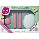 eos Set de regalo 1 crema de manos & 3 balsamos labiales (sorbete de fresa)
