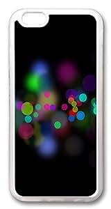 iphone 6 plus 5.5inch CaseCircles Bokeh TPU Custom iphone 6 plus 5.5inch Case Cover Transparent