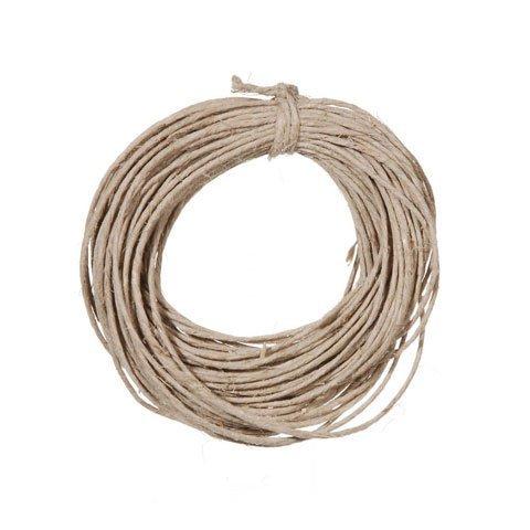 Bulk Buy: Darice DIY Crafts Hemp Cord 20lb weight Natural 15