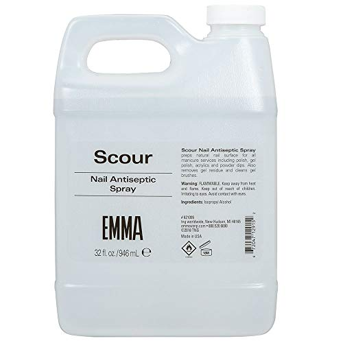 - EMMA V.S.N.P. Scour Nail Antiseptic Spray & Nail Cleanser, 32 Ounces