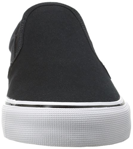 DC Mens Trase Slip-On TX U Skate Shoe,White,10 M US Nero/Bianco