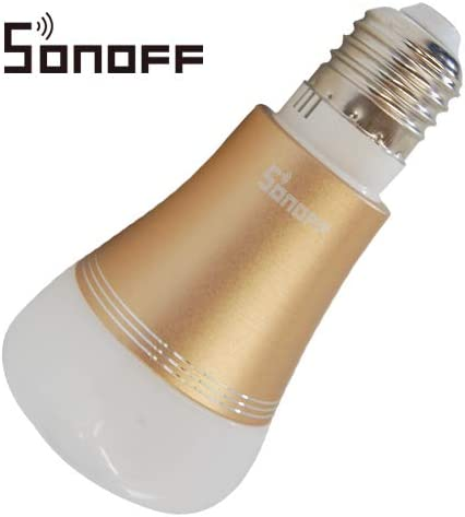 SONOFF B1 LAMP E27 LED COLOR RGB WiFi INALÁMBRICO AUTOMATIZACIÓN ...