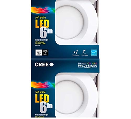 65W Equivalent Soft White (2700K) LED Retrofit Recessed Downlight (2-Pack) - - Amazon.com