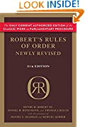 #5: Robert's Rules of Order Newly Revised (Robert's Rules of Order (Paperback))