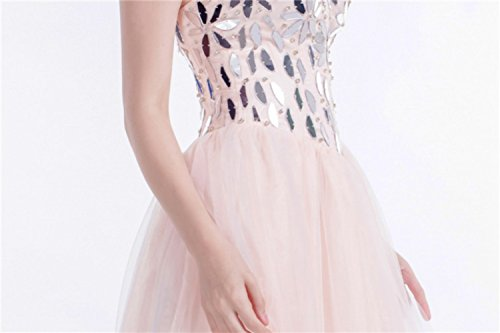 by Beaded Gown Women's Formal for Hand Evening Prom Party cotyledon wXIOFBB