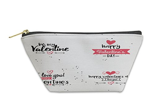 Gear New Accessory Zipper Pouch, Happy Valentines Day, Small, 6051271GN by Gear New