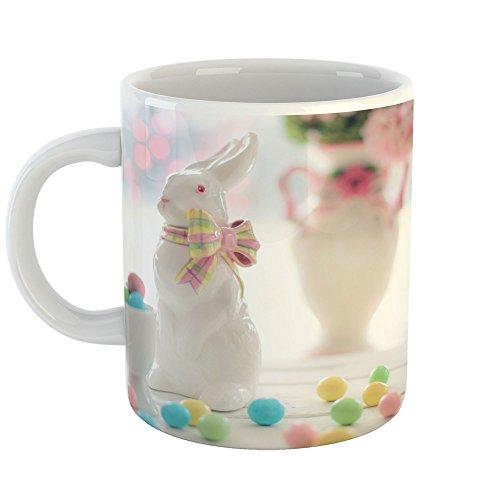 Westlake Art - Easter Bunny - 11oz Coffee Cup Mug - Modern P