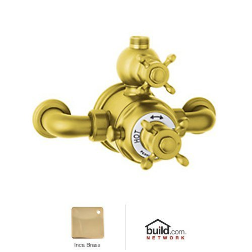 Rohl U.5552X-IB Perrin And Rowe Exposed Thermostatic Shower Valve Trim (Trim Only), Inca - Thermostatic Rowe Mixer Exposed Shower
