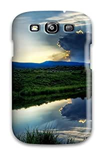 Premium Galaxy Earth Landscape Case For Galaxy S3 Eco Friendly Packaging