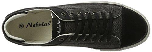 007 Schwarz Nero Uomo Sneaker Speed Nebulus n8qB0Hwa4