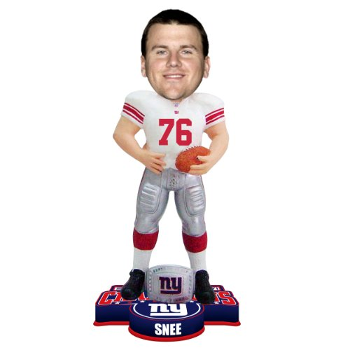 FOCO NFL New York Giants Super Bowl XLVI Champions Ring Bobble, C. Snee by FOCO