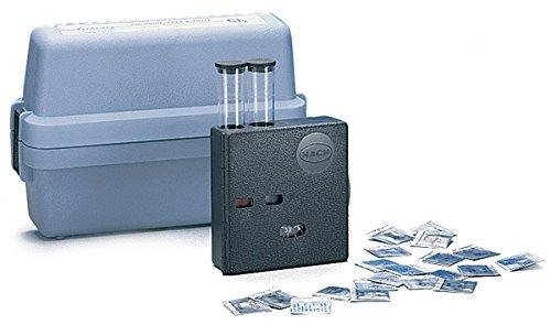 Hach 223102 Free Chlorine Color Disc Test Kit, Model CN-66F