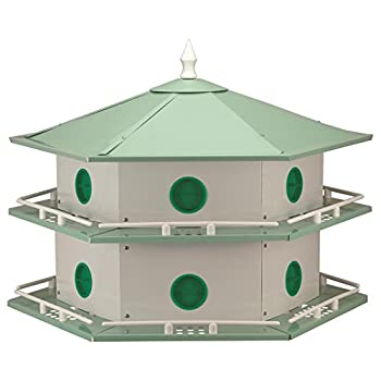 Heath Outdoor Products AH-12D 12 Room Aluminum Purple Martin House