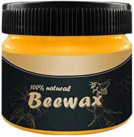 domiluoyoyo 4 STÜCKE Holzgewürz Bienenwachs Mehrzweck Bienenwachs Möbelpolitur Holzwachs Wischtücher Reiniger Ungiftiges Möbelpflegewachs
