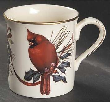 Amazon lenox winter greetings mug cardinals coffee cups mugs lenox winter greetings mug cardinals m4hsunfo
