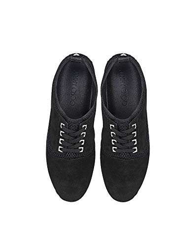 Jensonsmssuede Choo Sneakers Nero Jimmy Uomo Tessuto 0TZSFFqw
