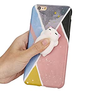 DDLbiz Squishies 3D Cute Animal Soft Silicone Case Cover For IPhone 6 Plus/6s Plus 5.5Inch (B)