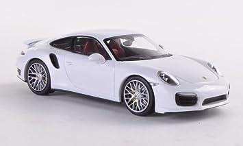 Porsche 911 Turbo S 991 Weiss 2012 Modellauto Fertigmodell Minichamps 1 43 Spielzeug