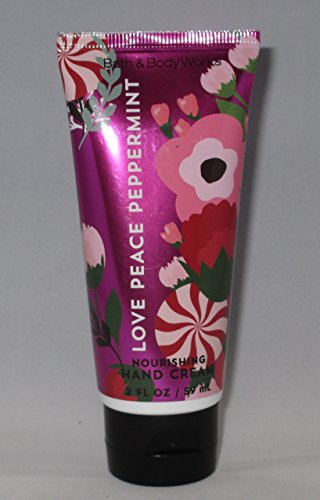 (Bath & Body Works Nourishing Hand Cream Love Peace Peppermint)