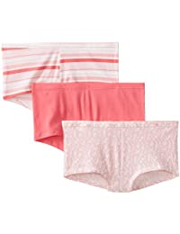 Hanes Women's ComfortSoft Cotton Stretch Boyshort Panty (Pack of 3)