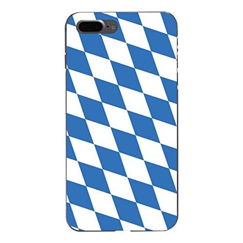 "Disagu Design Case Schutzhülle für Apple iPhone 7 Plus Hülle Cover - Motiv ""Bayern-Flagge"""