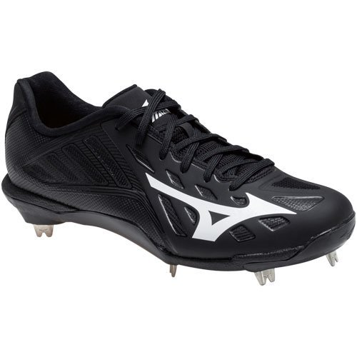 Mizuno Men's Heist IQ Baseball Shoe Black/Black wiki cheap price buy cheap recommend 100% authentic sale online zo7aOSpMx