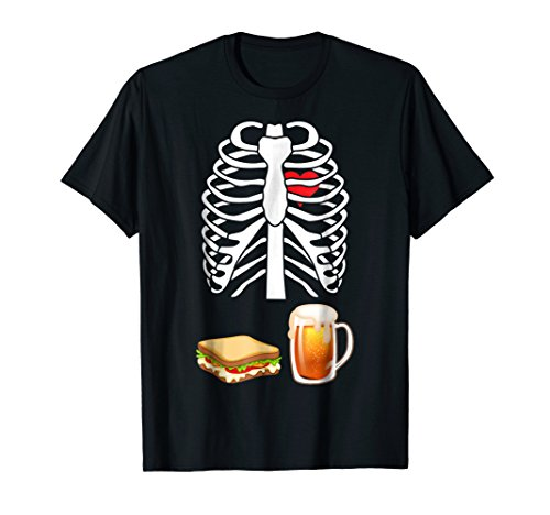 Sandwich Beer Food Funny Group Halloween Costume T-shirt -