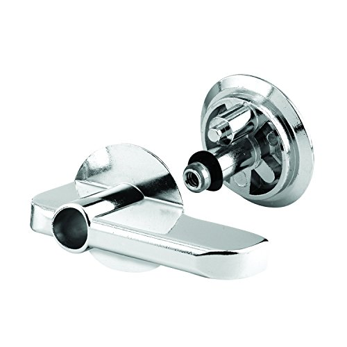 Sentry Supply 656-8918 Concealed Latch Lever Set, Cast Zamak, Chrome Plated, Security Fastener, Pack of 1 Set ()