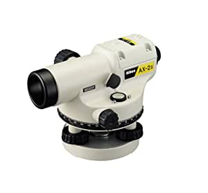 Nikon AL-NIKON-AX-2S-1 Automatic Level Kit with Tripod and 15-Foot Tenths Grade Rod