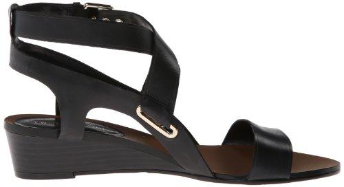 Enzo Angiolini Women's Zabariz Wedge Sandal Black gFpY1U