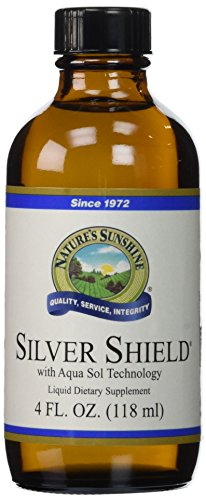 NATURE'S SUNSHINE Silver Shield Supplements, 4 Fluid Ounce