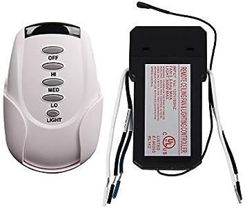 Kit de mando a distancia universal para ventilador de techo con ...
