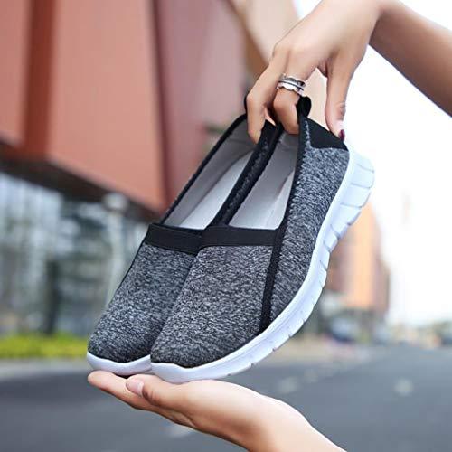 Glisser Chaussures Semelle De Respirant Yoga Femme Electri Sangle Noir Plage Paresseux Aquatiques Sur Croisée Peau Souple Bain Sneakers w7FxCqF