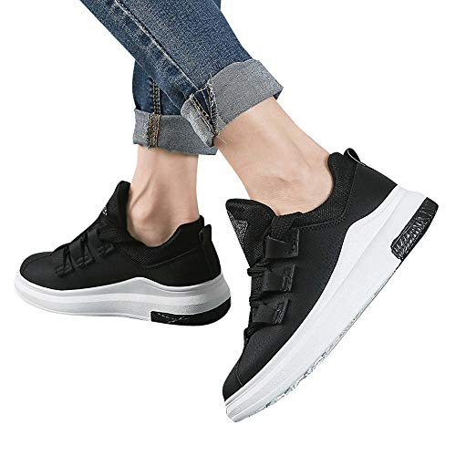 Forme Chaussures Casual Chaussures Appartements Femmes De Femme Sport Chaussures Plate Dames LIANGHUA Lacets Sneakers Automne Femmes Chaussures Respirant TRIqYd
