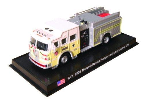 Monarch Rescue Pumper small body Sutphen - 2006 diecast 1:73 fire truck model (Amercom SF-20) by Unknown - Fire Truck Body